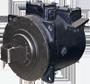 Электродвигатель типа ДРТ для привода аккумуляторных электровозов